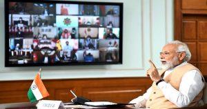 കോവിഡ് വ്യാപനം : പ്രധാനമന്ത്രി മുഖ്യമന്ത്രിമാരുമായി നാളെ കൂടിക്കാഴ്ച നടത്തും