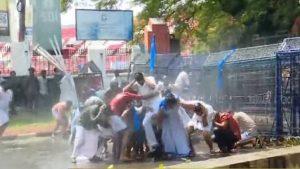 പ്ലസ് വൺ പ്രവേശനം: സർക്കാർ സമീപനത്തിനെതിരെ കെഎസ്യു മാർച്ച്; സംഘർഷം